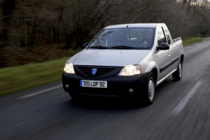 Dacia Logan Pick-Up 02 Front  Seite