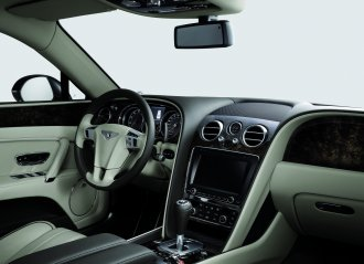 bentley  bentley flying spur innen